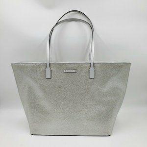 Kate Spade Haven Lane Hani Glitter Zip Tote Bag
